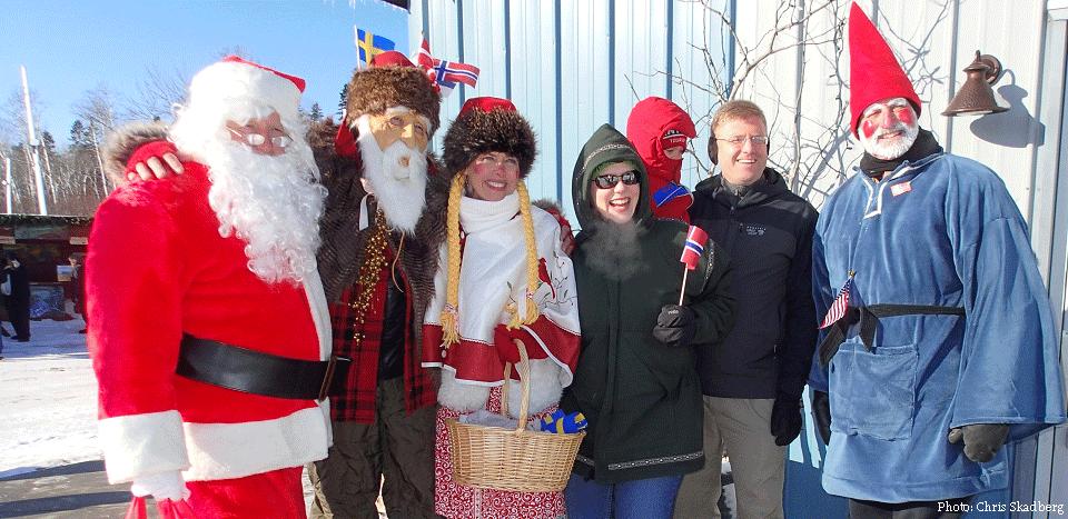 Minnesota Christmas Events 2019 Julebyen Christmas Village, Dec. 6 8, 2019